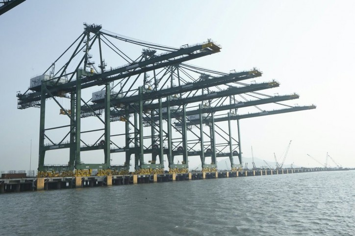 Prime Minister of India Shri Narendra Modi inaugurates the Fourth Container Terminal of JNPT in Mumbai