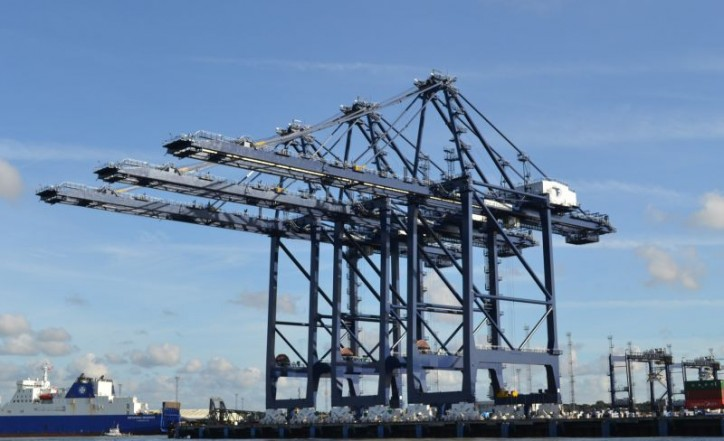 Felixstowe Port's Logistics Park optimized ready for Ultra Large Boxships
