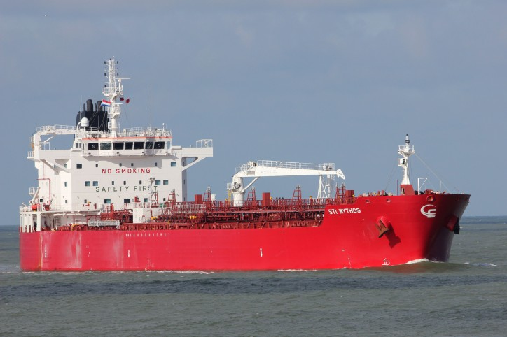 Scorpio's tanker STI Mythos Joins Bahri's Fleet