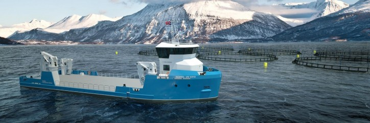VOLT Service selects Damen's new Utility Vessel 4312 for Norwegian aquaculture operations