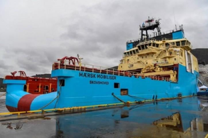 Fifth Starfish anchor handler joins Maersk fleet