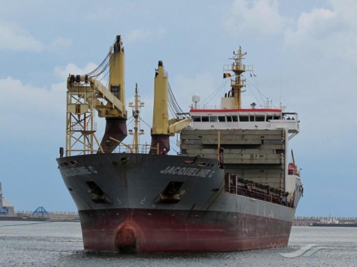 Drug seizure aboard general cargo ship Jacqueline C