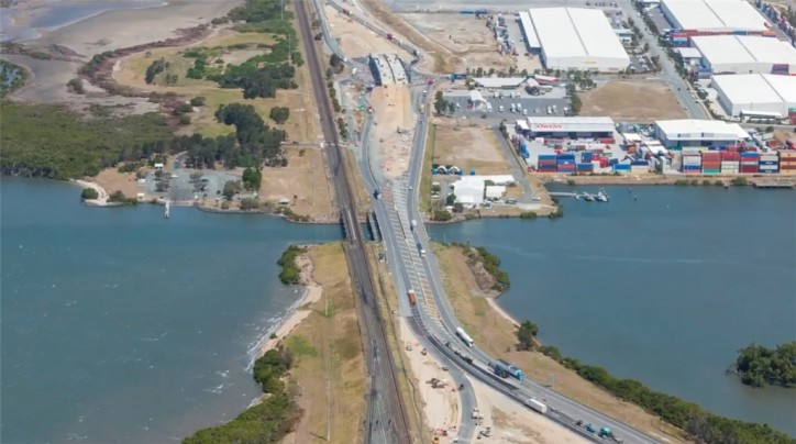 Port of Brisbane completes work on $110M Port Drive Upgrade