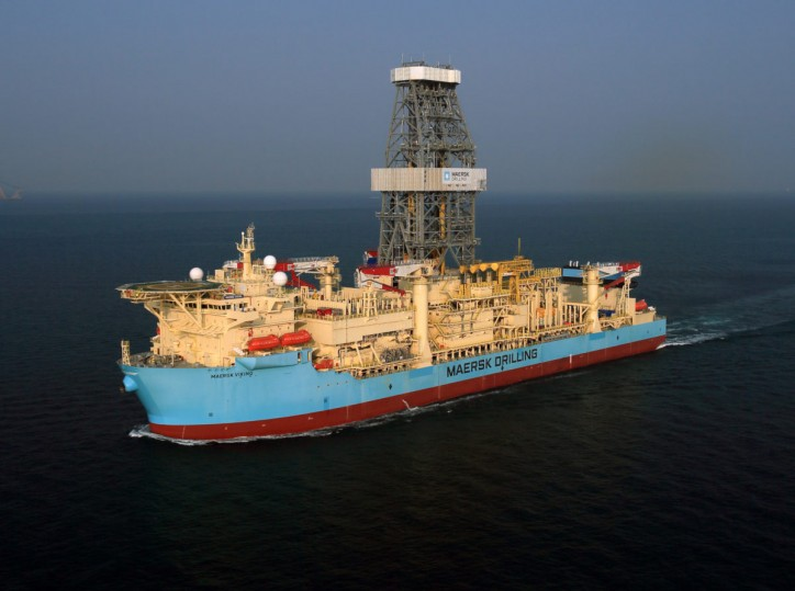 Drillship Maersk Viking has arrived Ghanaian Waters