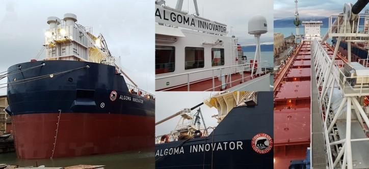 Algoma Central Corporation Announces Delivery of the Algoma Innovator