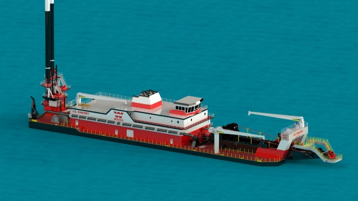 IHC America wins a new contract with Weeks Marine