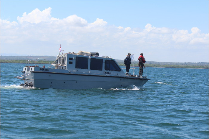 Seabed data collection by Survey Motor Boat
