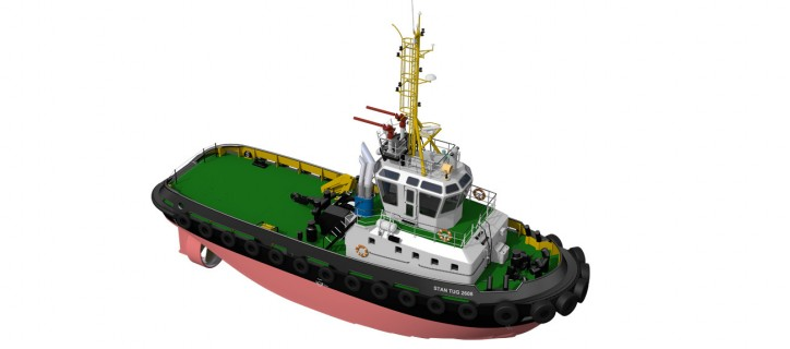 First DAMEN Tug For Italian towage company OCEAN
