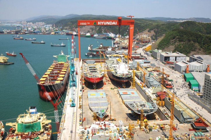 Hyundai Heavy Industries Returns to Profits in 1Q 2016
