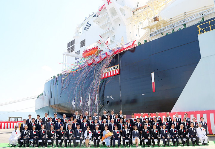 MOL's Newbuilt LNG Carrier MARVEL EAGLE to Serve Mitsui & Co.