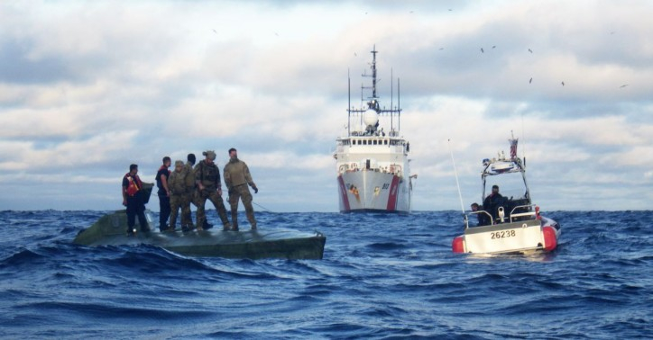 US Coast Guard offloads more than 7 tons of seized cocaine in Port Everglades