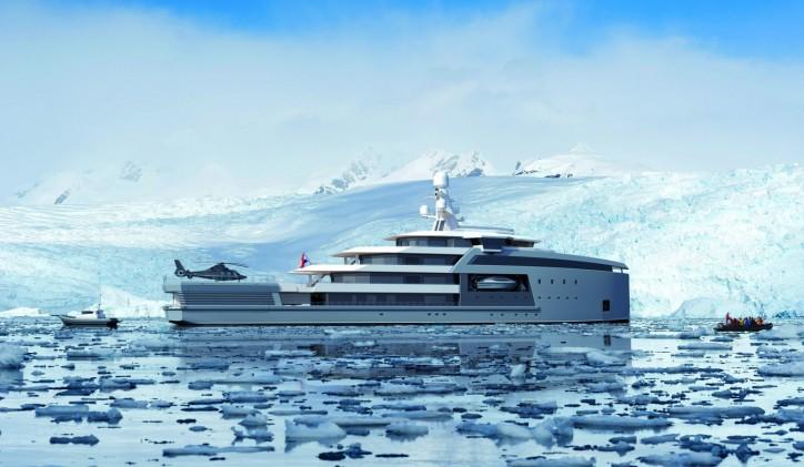 Damen SeaXplorer90m - Antarctica