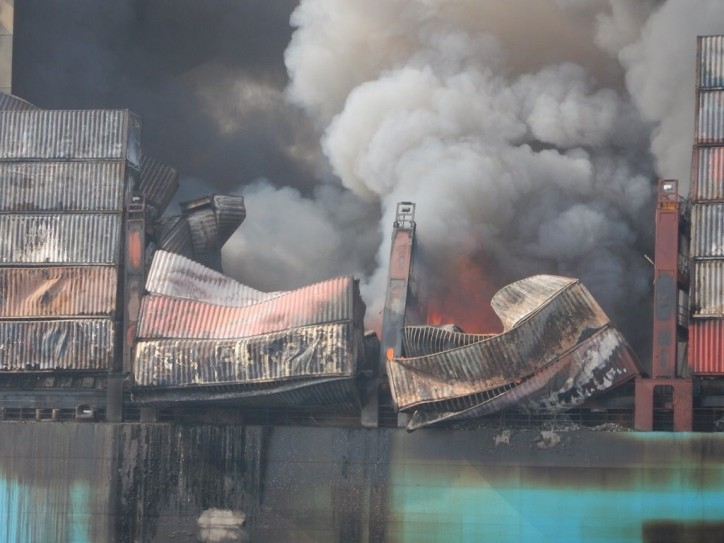 iContainers: Maersk Honam's fire highlights importance of cargo insurance