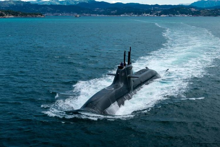 Submarine Pietro Venuti Delivered to Italian Navy