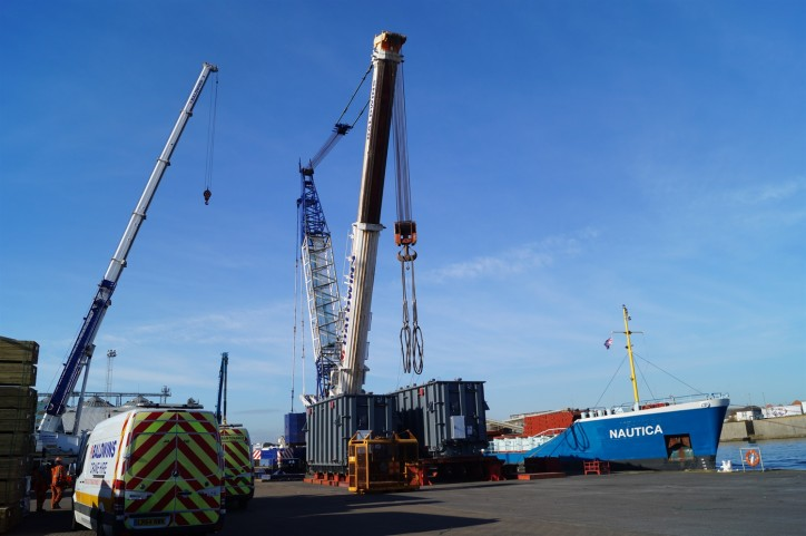 Shoreham Port facilitate huge operation