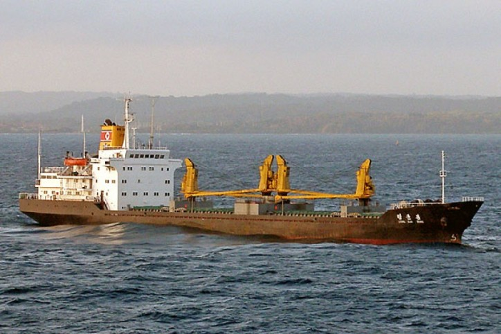 North Korea ships under sanctions carrying on activities