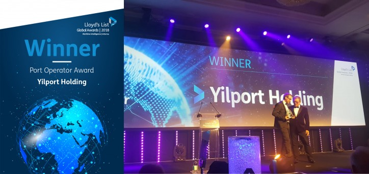 YILPORT Holding Wins Port Operator Award at Lloyd's List Global Awards