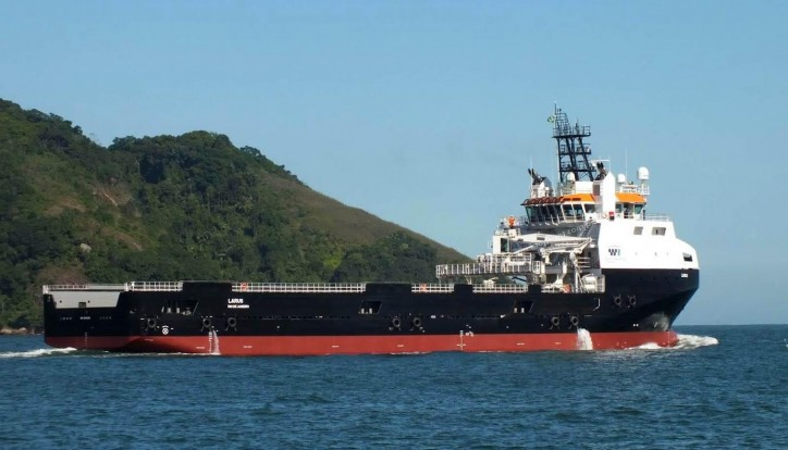 Damen PSV delivered to Wilson Sons Ultratug Offshore