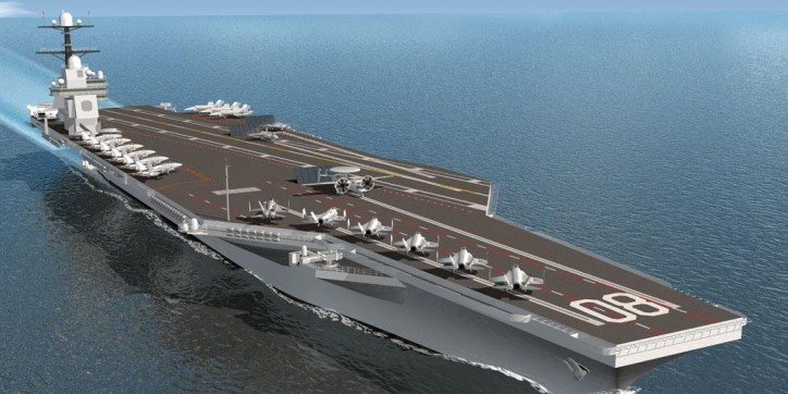 Huntington Ingalls Industries Awarded $15.2 Billion Block Contract For Two Ford-Class Aircraft Carriers