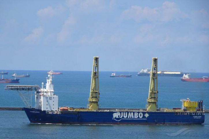 Jumbo successfully installs another mooring system in Egypt