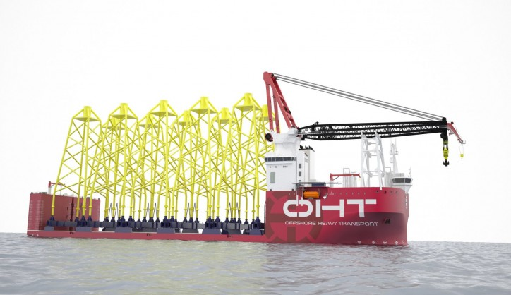 Ulstein redefines heavy lifting - OHT sets new benchmark in offshore heavy transport and installation