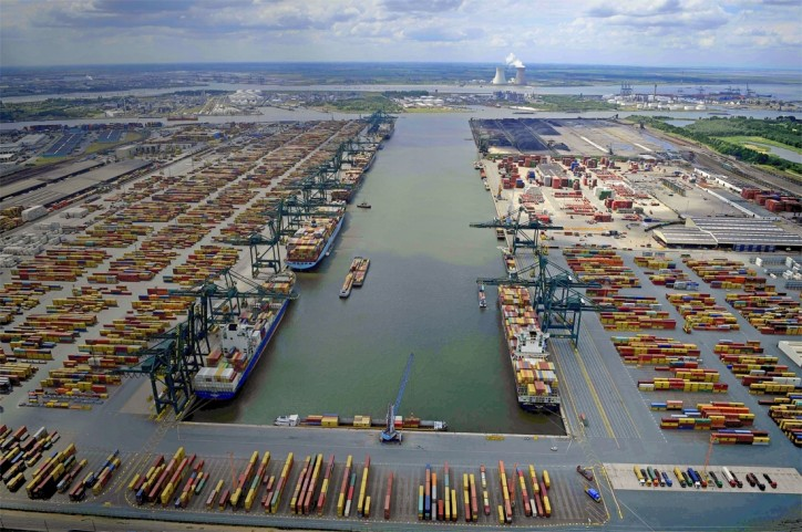 Increasing freight flows between Antwerp and Germany