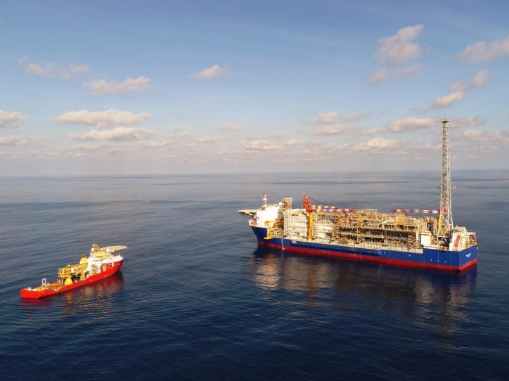 Ichthys LNG Project's giant FPSO safely moored in Ichthys Field