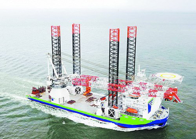 Chinese shipbuilder XSI secures 1st wind turbine installation vessel order