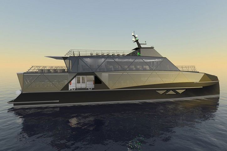 Incat Crowther starts construction work on innovative new Eco tour vessel
