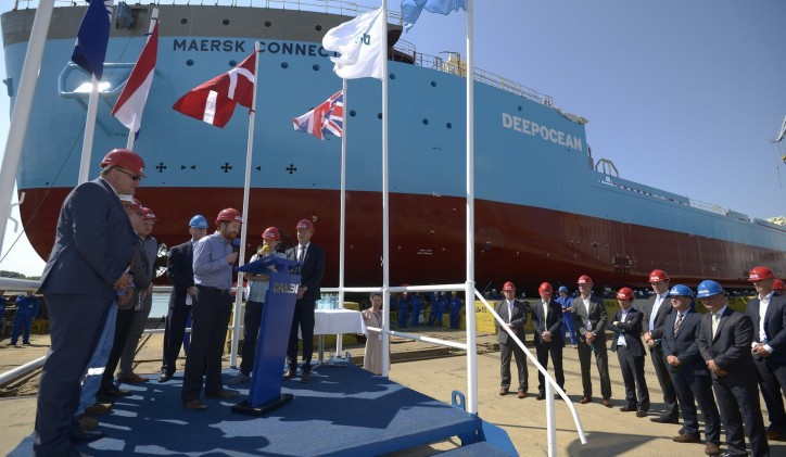 Second Damen Offshore Carrier Launched at Damen Shipyards Galati in Romania