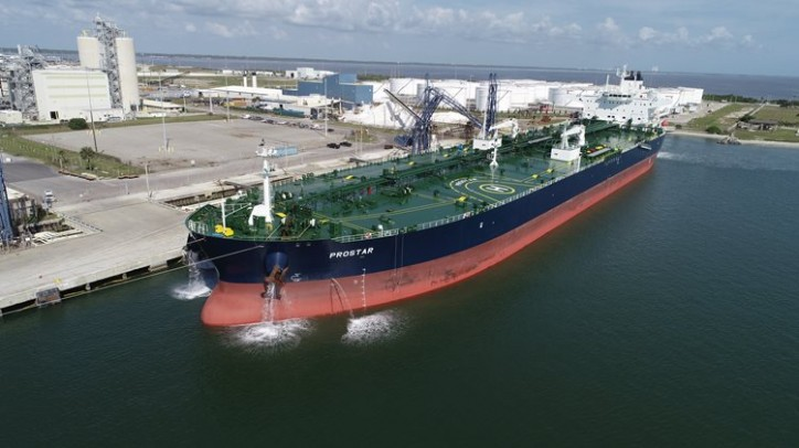 Port Canaveral is First North American Call for New Aframax Tanker