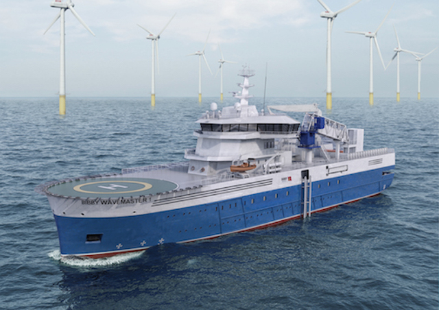 Bibby Marine Services orders first-ever Damen Service Operations Vessel