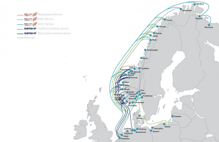 Samskip upgrades Nor Lines shortsea service network