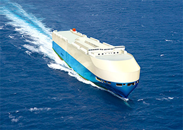 MOL Unveils Its Next-Generation Car Carrier Hull Design
