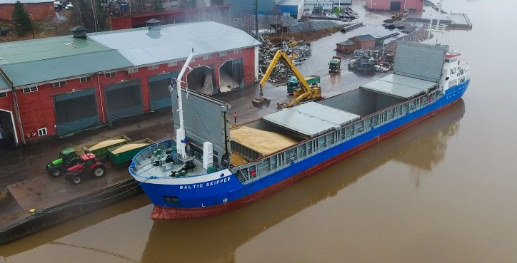 ESL Shipping successfully entered smaller vessel class