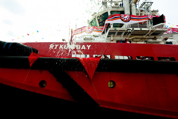 KT Maritime (Kotug) christens two Infield Support Vessels