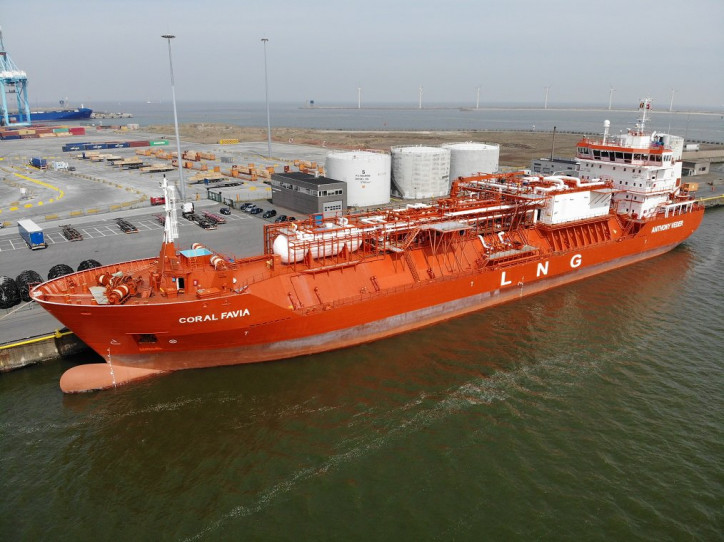 Anthony Veder expands fleet with taking in five gas carriers from GATX