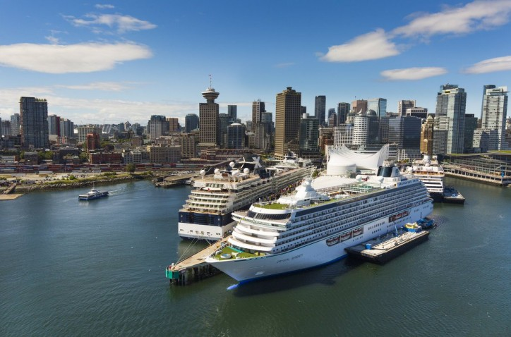 Record cruise passenger numbers expected at Canada Place terminal in the Port of Vancouver on May 20th