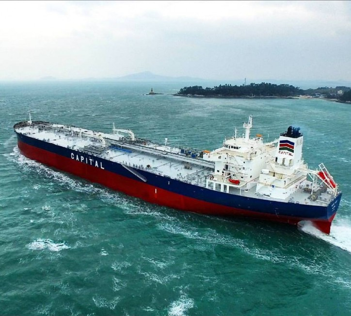 Capital Ship Management Corp. takes delivery of M/T Aristoklis and M/V Amigo II