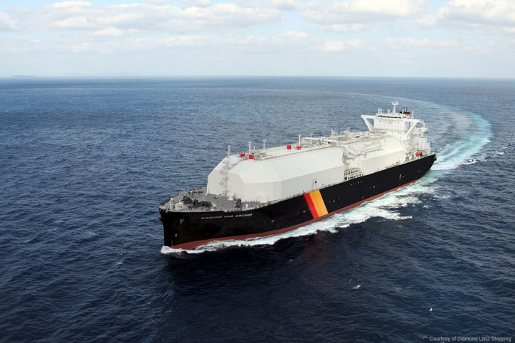 ABS Classes World's First Next-Generation LNG Carrier
