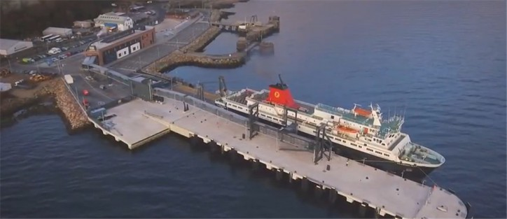 CMAL: Minister unveils new £30 million Brodick Ferry Terminal (Video)