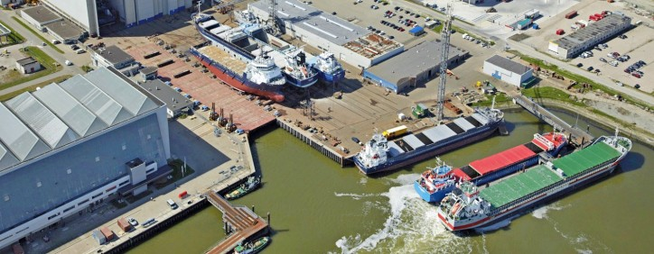 Damen Shiprepair Harlingen acquires hall for multifunctional purposes