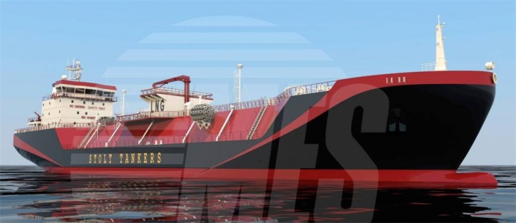 Keel laying held for Stolt-Nielsen's two small-scale LNG carriers at the Keppel Nantong Shipyard, China