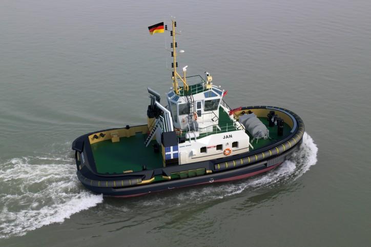 New Damen ASD Tug 2411 for Port of Hamburg