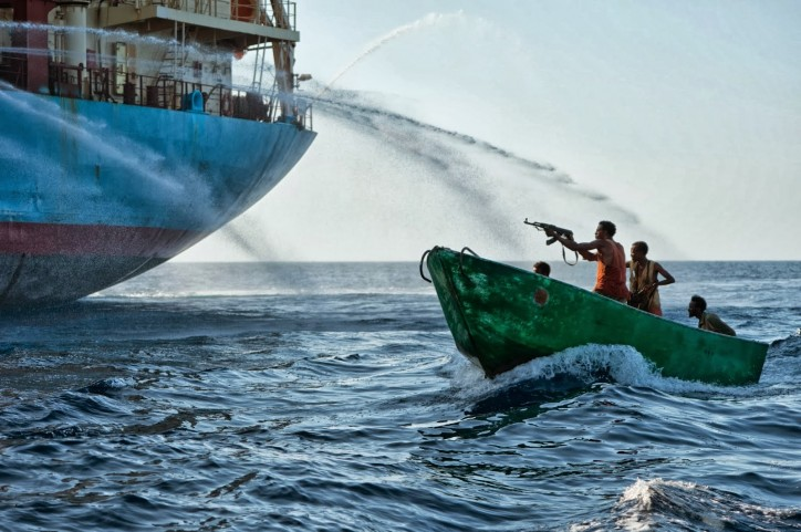 West Africa and South East Asia remain pirate hotspots