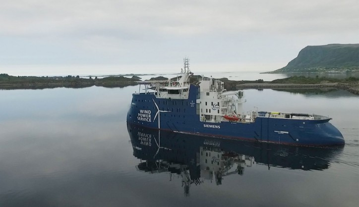 Ulstein: Successful SOV Sea Trial