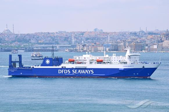 DFDS announces sale of two ferries to Ukrferry