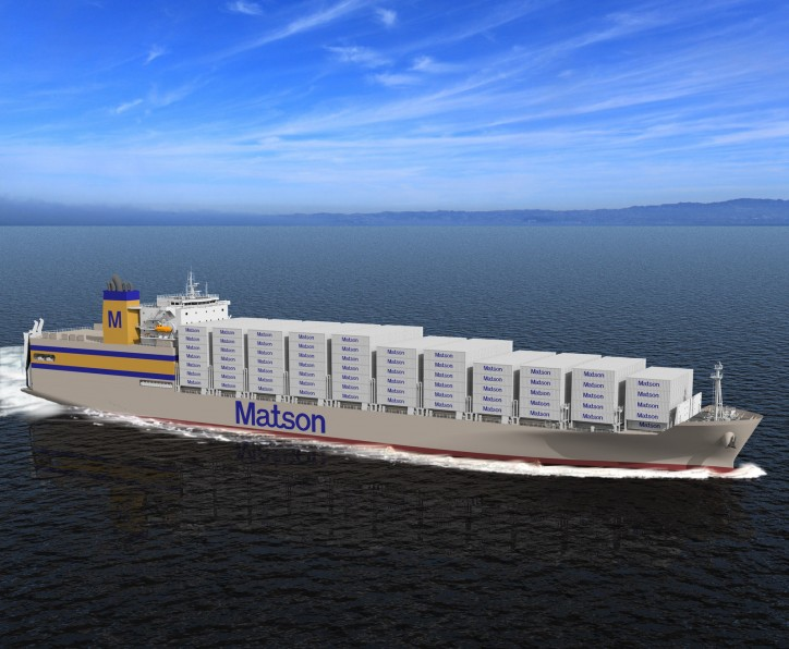 "Matson Begins Production on New ""Kanaloa Class"" Ships for Hawaii"