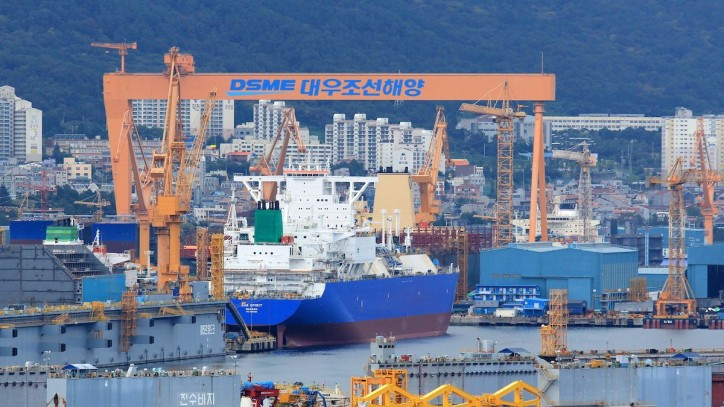 GTT to equip two new LNG carrier vessels for DSME