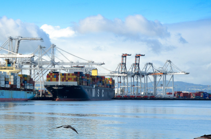 Port of Oakland exports up with help from China's neighbors